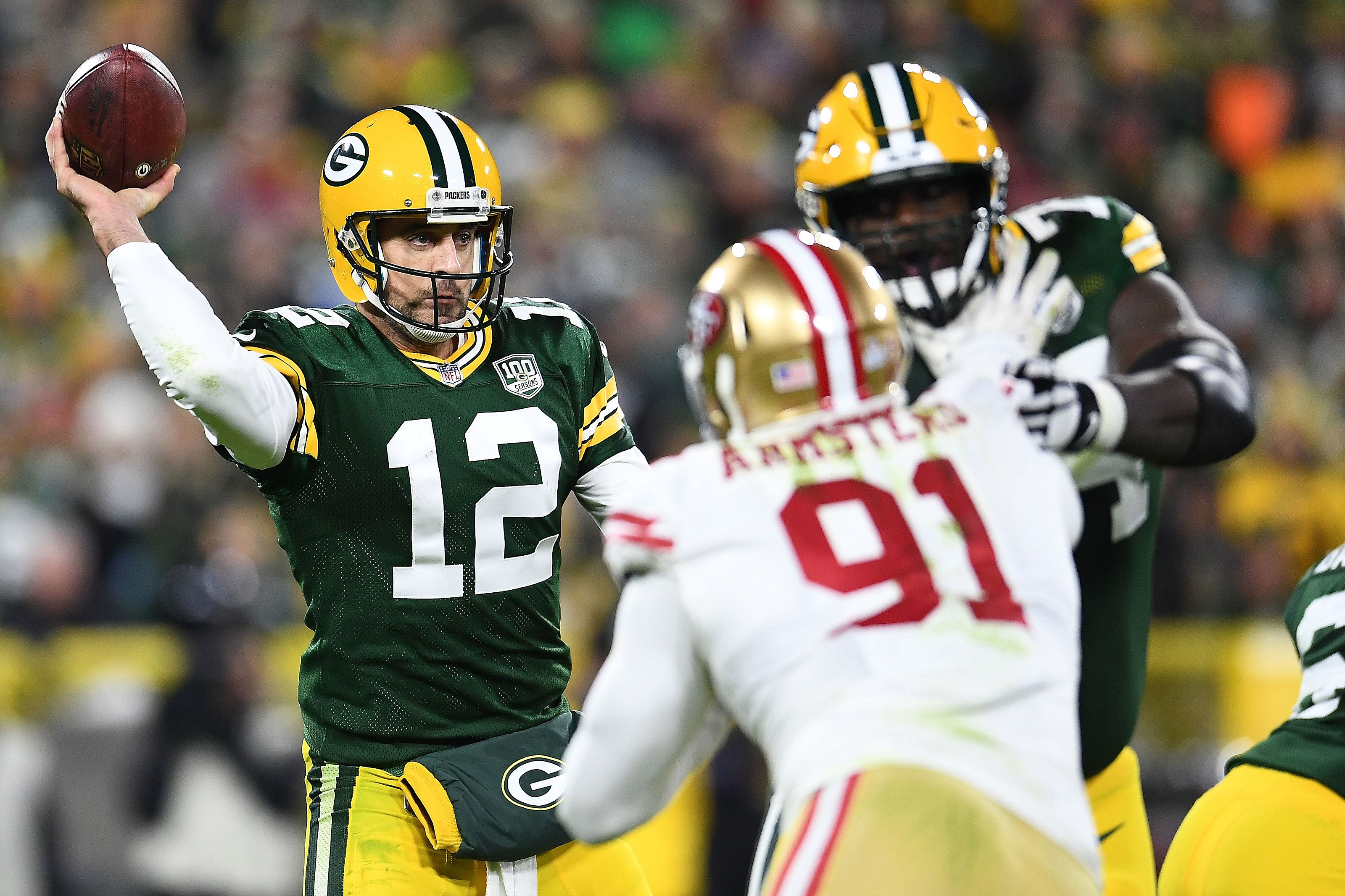 Packers vs 49ers